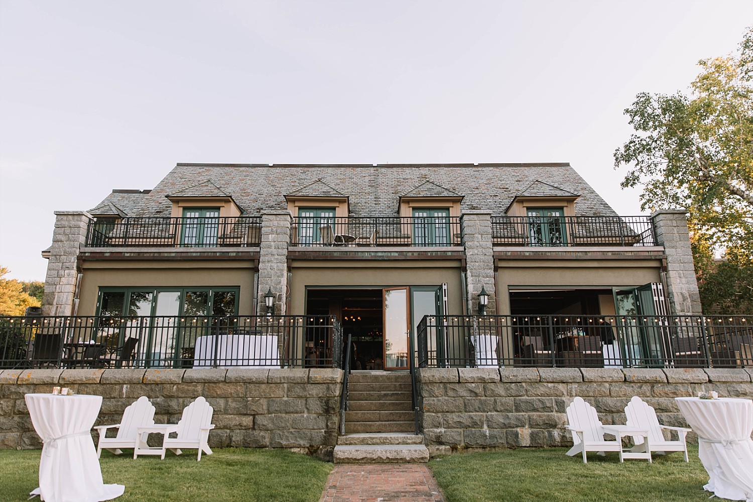 The Stone House - Bar Harbor Maine- Wedding
