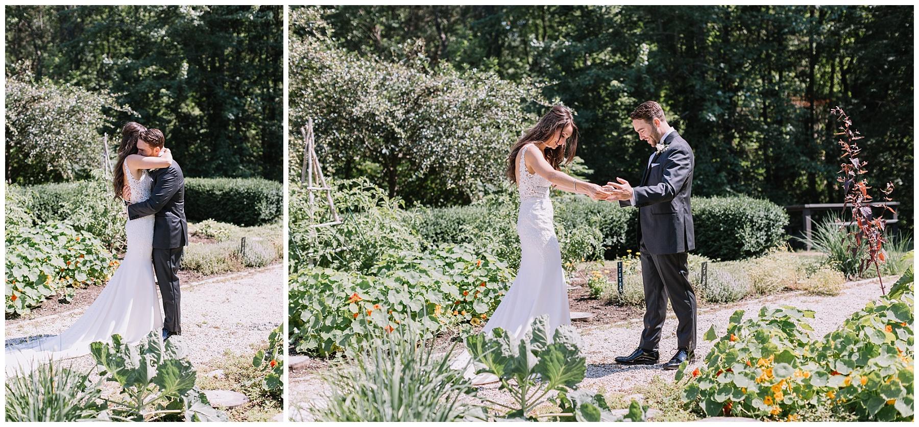 Hidden Pond Maine Wedding