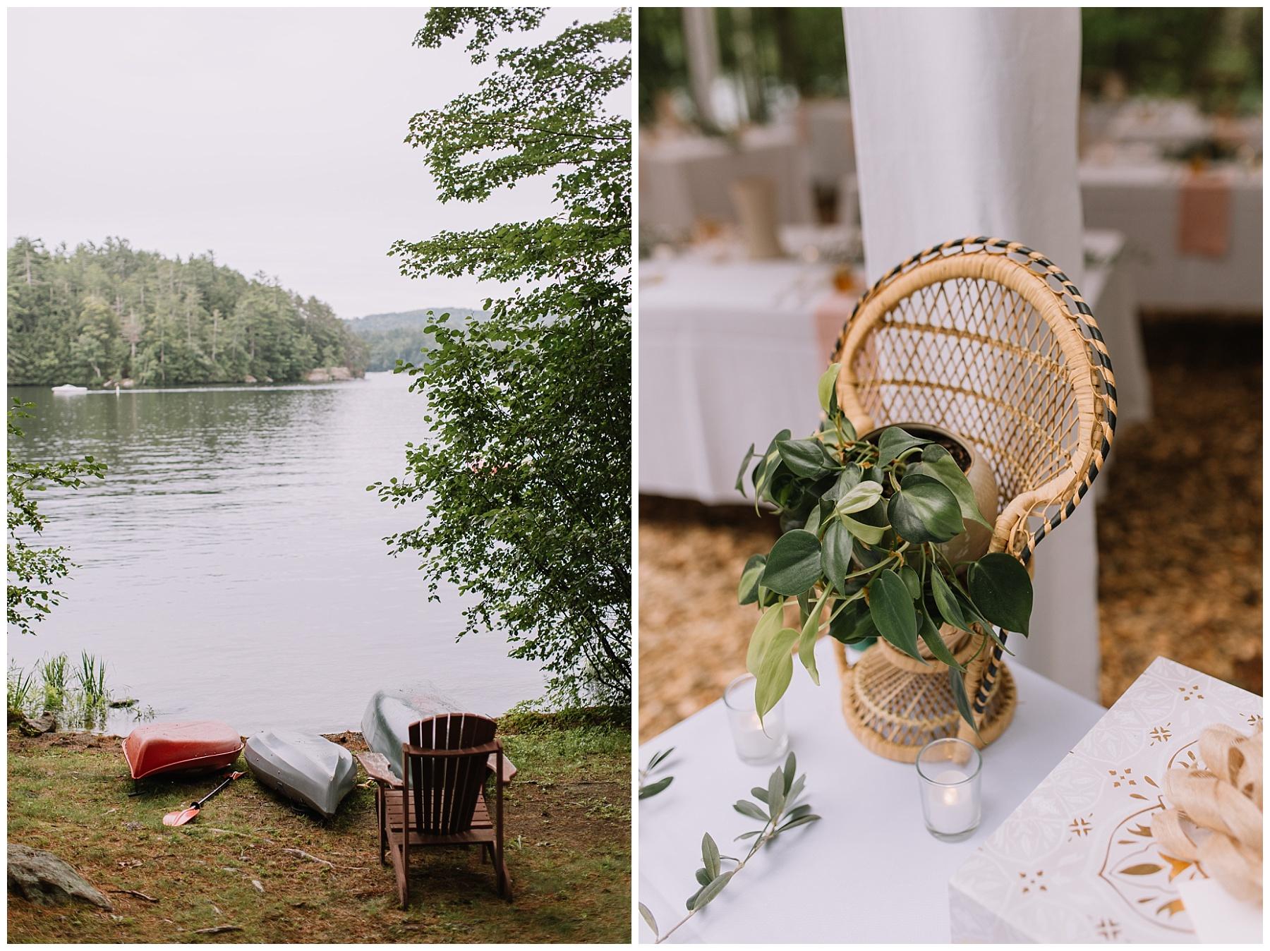 Lake Wedding, Maine