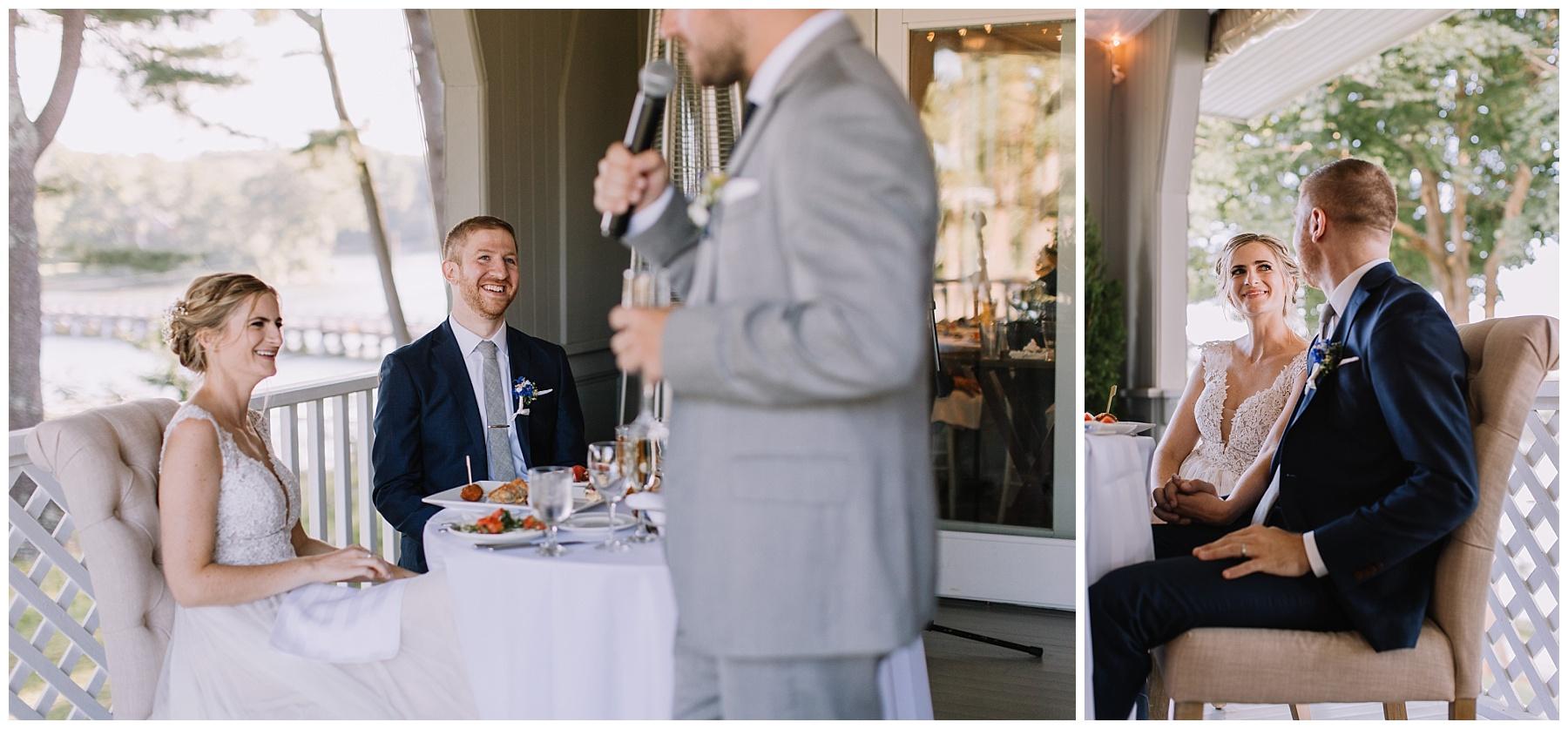 York Golf and Tennis Club Wedding