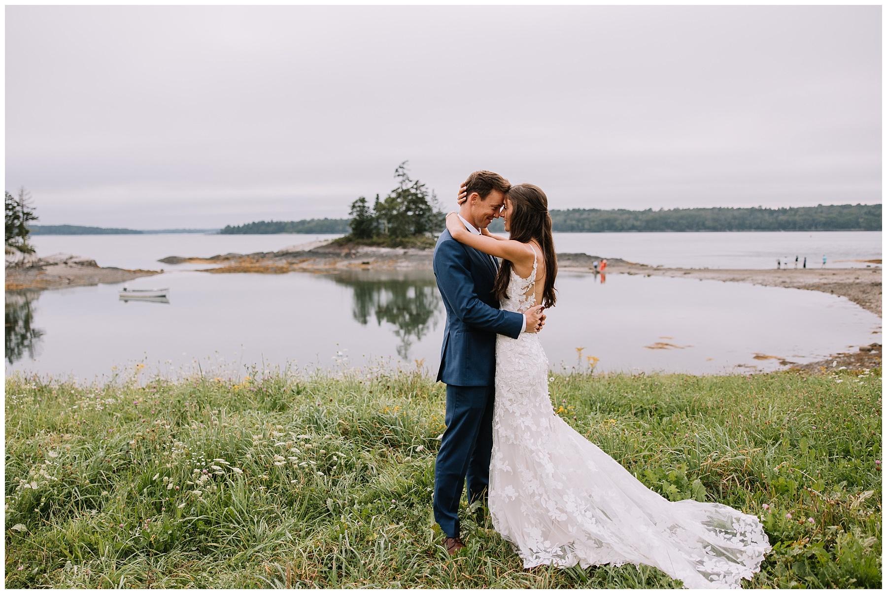 Live Well Farm, Harpswell Maine Wedding