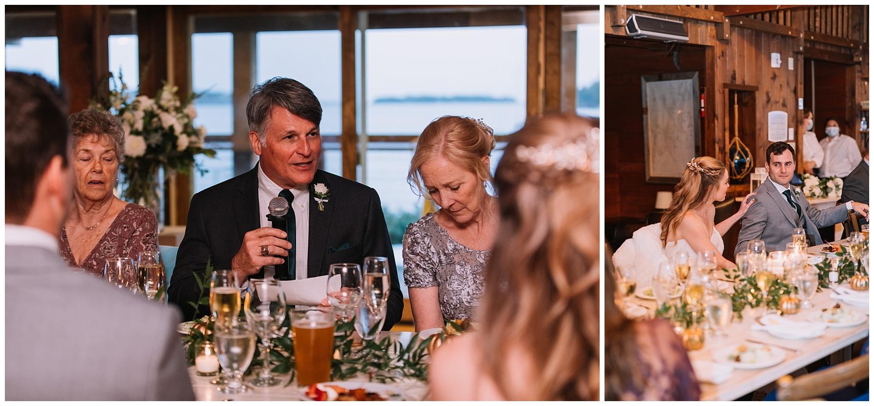 Boothbay Harbor Maine Wedding