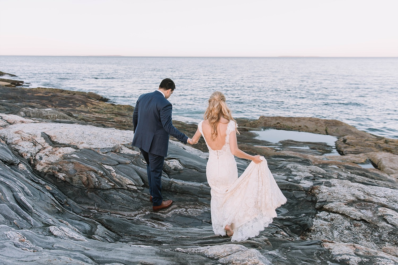 Pemaquid Point Wedding - Maine