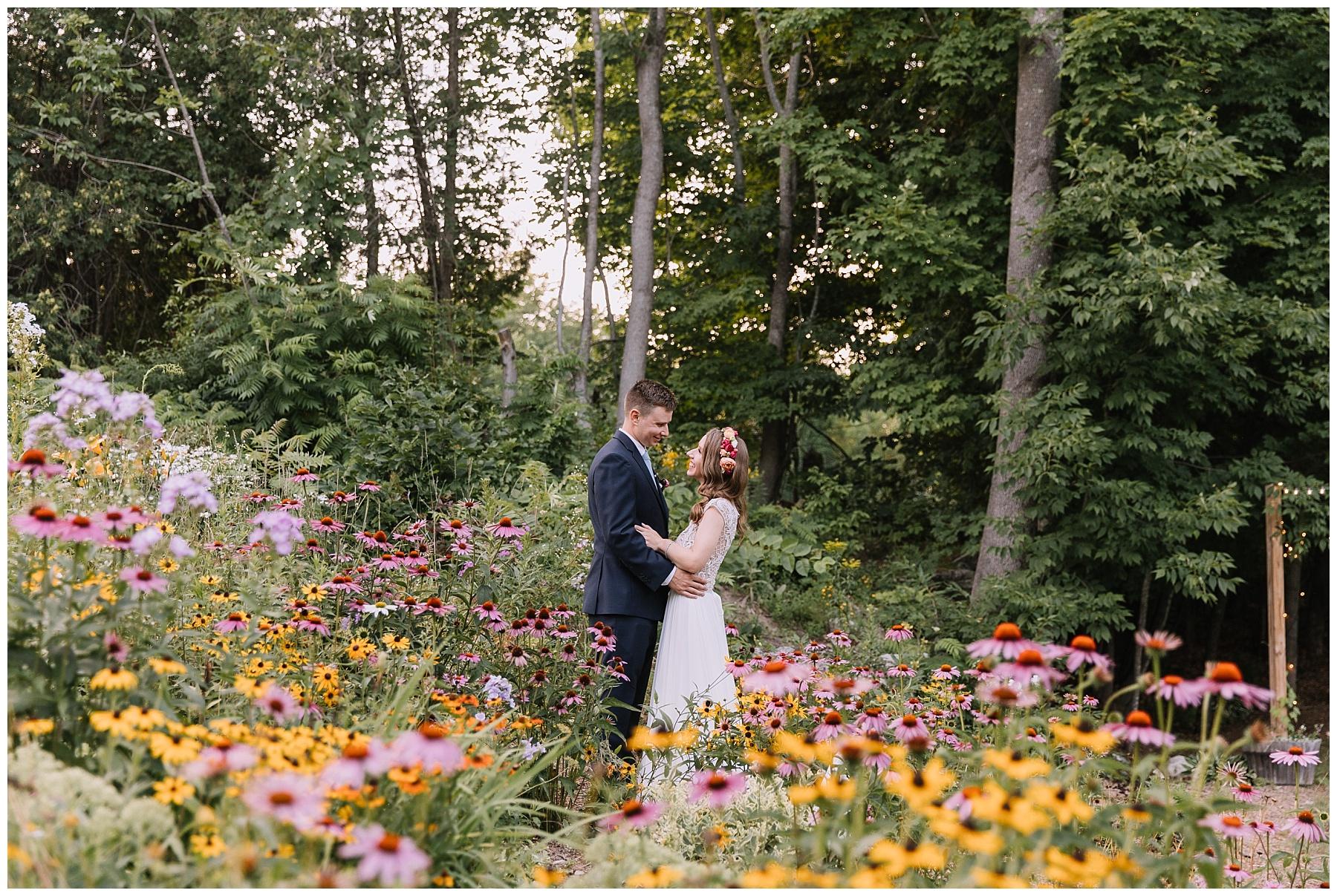 Garden Gate at Haley Farm Wedding